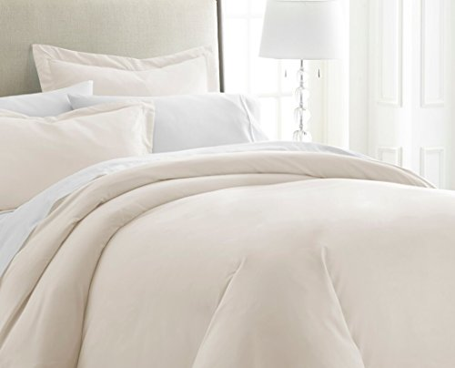 ienjoy Home IEH KING-IVORY Duvet Cover Set