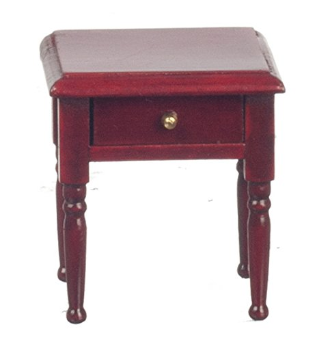Dollhouse Miniature 1:12 Scale Mahogany Night Stand #T3204