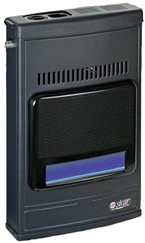 Stufa a gas metano a parete termosifone o da pavimento Accensione Piezo Elettrica, potenza 4100w