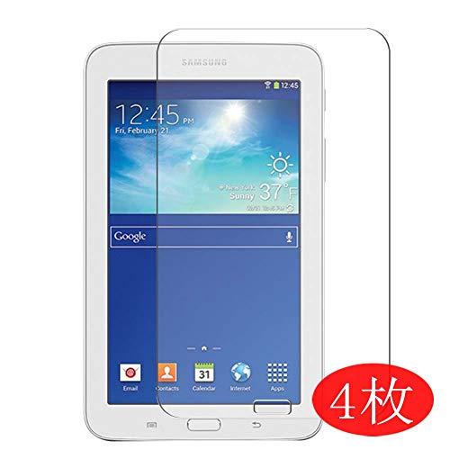 Vaxson 4 Stück Schutzfolie kompatibel mit Samsung Galaxy Tab 3 Life SM-T110 T111 T113 T116 7