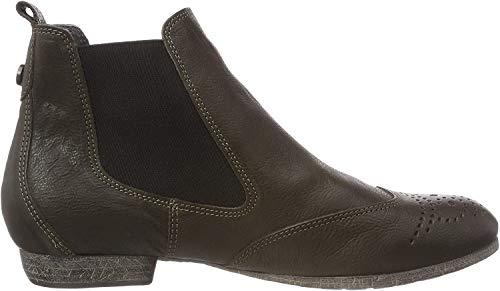 Think! Damen EBBS_383136 Chelsea Boots, Grün (62 Oliv), 39 EU