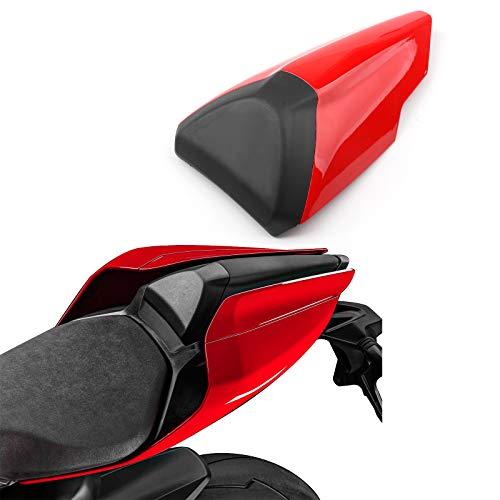 Artudatech Motorrad Soziusabdeckung Sitzkappe Verkleidung Heckabdeckung Rücksitzbezug Rear Seat Cowl Fairing Tail Cover für DUCA-TI 959 1299 Panigale 2015-2019
