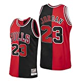 SJYMKYC Bulls Vintage Jersey Michael Jordan # 23 Chicago Basketball Swingman Jersey, Jersey Deportivo, Jersey De Partidarios, Chaleco Transpirable De Secado Rápido (S-3XL)