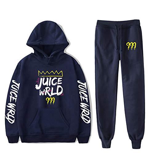 Huacaiyu Rapper Chándal para Hombre Mujer Sudaderas con Capucha y Pantalones Sets Unisex Sweatshirt Niños Niñas Hip Hop Hoodies XXS-4XL