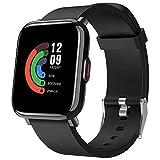 AITES Smartwatch,Reloj Inteligente para Hombre Mujer 18 Modos Reloj Deportivo con Impermeable 5ATM Pulsera Actividad Inteligente con Pulsómetro Monitor de Sueño Calorías Podómetro,Regalo para Hombre