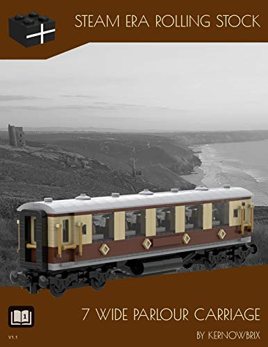 Steam Era Rolling Stock 7 Wide Parlour Carriage (English Edition)
