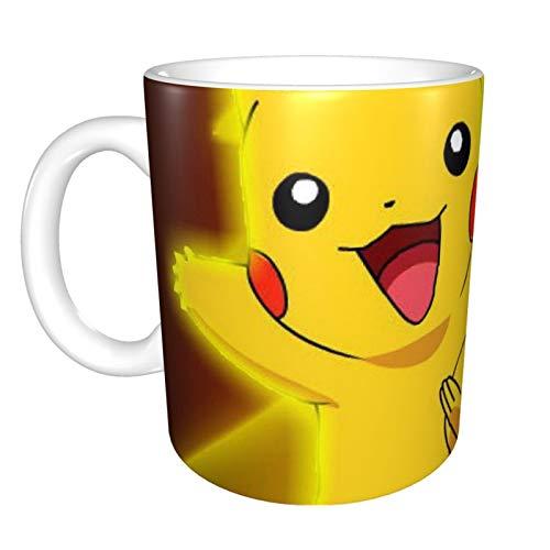 Taza de café Pokemon Pikachu para capuchino, café con leche o té...