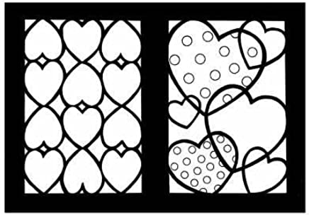 [(Hearts Stained Glass Coloring Book )] [Author: Cathy Beylon] [Feb-2005]