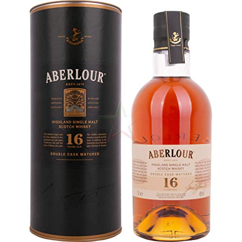 Aberlour 16 Years Old DOUBLE CASK MATURED Highland Single Malt Scotch Whisky 40,00% 0,70 Liter