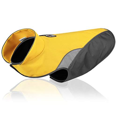 Outdoor hondenjas sport hondenmantel voor kleine middelgrote grote honden Gilet reflecterend vest Coat huisdier kleding waterdicht, XXXL, geel