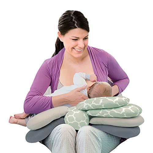 Luvlap Multi Elevation Nursing Pillow, 0m+