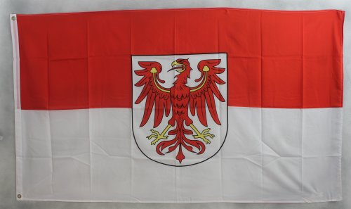 Flagge Fahne ca. 90x150 cm : Brandenburg brandenburger Brandenburgflagge