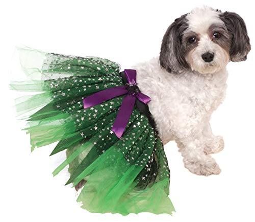 Disfraz de bruja con estrellas para mascotas.