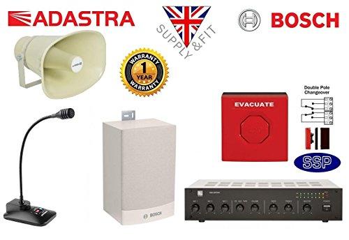Bosch sistema de alerta de alarma de emergencia suministro y Fit de seguridad contra incendios