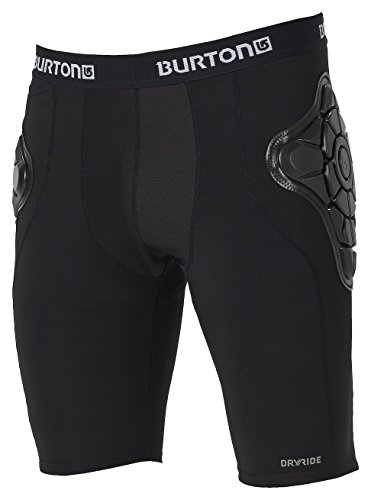 Burton Herren Protektor TOTAL IMPACT Shorts, True Black, M
