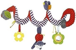 SaPeal Kid Baby Crib Cot Pram Hanging Rattles Spiral Stroller Car Seat Toy