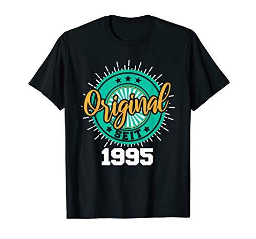 25. Geburtstag Mann Frau 25 Jahre Jahrgang 1995 Geschenk T-Shirt