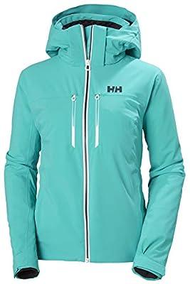 Helly-Hansen Womens Alphelia LIFALOFT Ski Jacket, 525 Turquoise, X-Small
