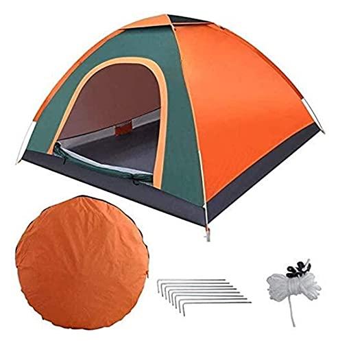 Ankon Tiendas de campaña para acampar al aire libre impermeable tienda familiar fácil de instalar Pop tienda impermeable refugios de sol con bolsa de transporte para picnic senderismo tienda de pesca
