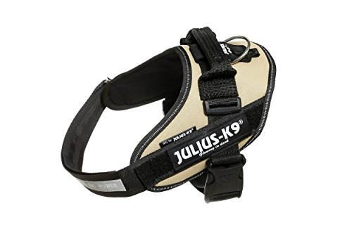 Julius-K9 16IDC-BE-0 IDC Powerharness, Dog Harness, Size 0, Beige