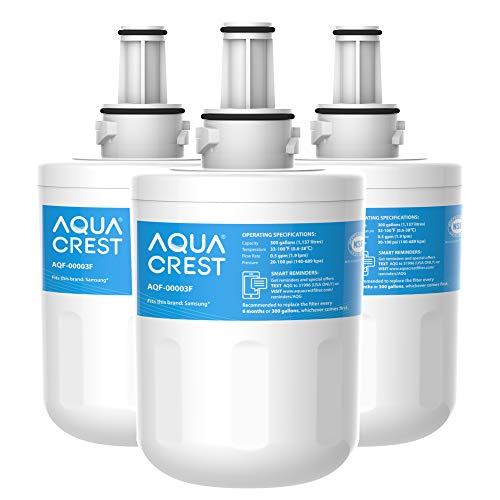 3X AQUA CREST DA29-00003F Kühlschrank-Wasserfilter, Kompatibel mit Samsung Aqua Pure Plus DA29-00003F, HAFIN1, DA29-00003A, DA29-00003B, DA29-00003A-B, DA61-00159A, DA97-06317A (3)