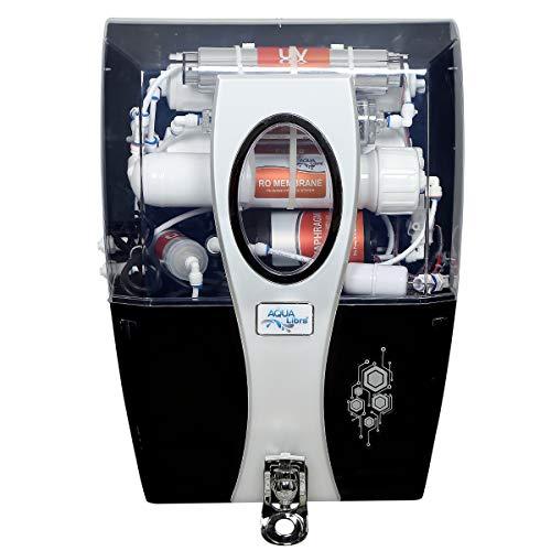 Aqua Libra RO+UV+Uf+Tds Control with Active Copper Premium Water Purifier, (SILVER)