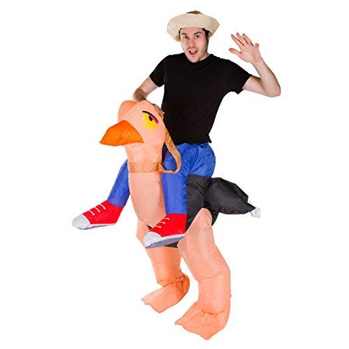 Bodysocks® Aufblasbares Strauß Kostüm für Erwachsene