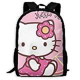 Mei-shop Hello-Kitty Personalizado con Mochila Informal de limón Mochila...