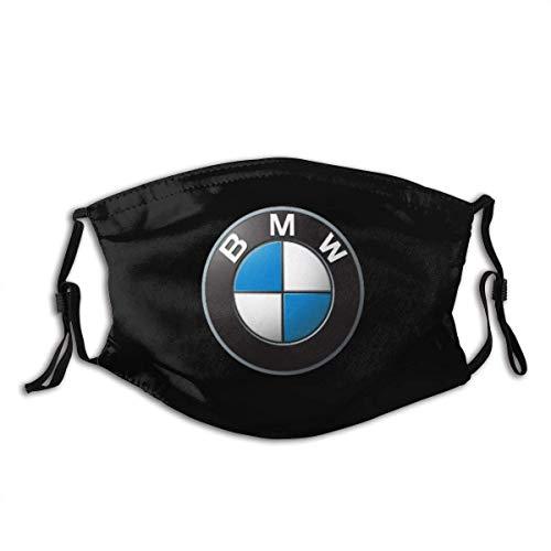 N / A Half Face Scarf,B-M-W M Sportwagen Serie Power Logo Mundschal, Bequemer Nasenschutz Zum Gehen, Wandern, Joggen,20x15cm