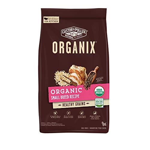 Castor & Pollux ORGANIX Organic Small Breed Recipe with Healthy Grains Dry Dog Food - 10 lb. Bag