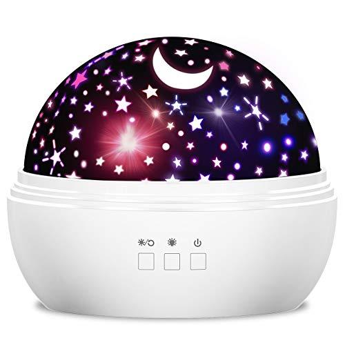 Dreamingbox Spielzeug Mädchen 1-10 Jahre, Sternenhimmel Projektor Nachtlicht für Kinder Spielzeug Junge 1-12 Jahre Geburtstag Geschenke für Jungen ab 1-10 Weihnachten Geschenk für Kinder 1-12 Jahre