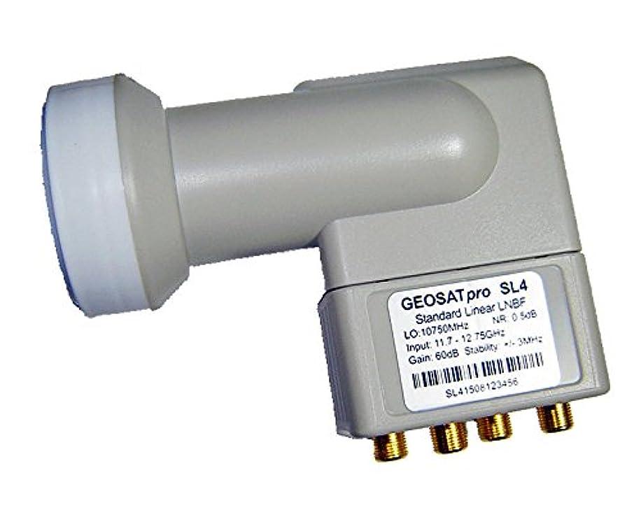 GEOSATpro SL4 Quad Output Standard Ku Band LNBF