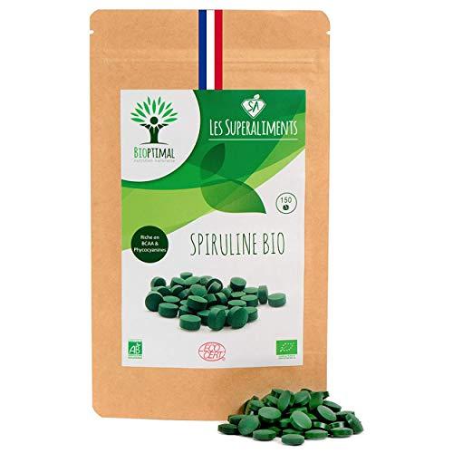 Spiruline bio | 150 comprimés | Complément...