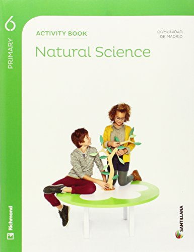 NATURAL SCIENCE 6 PRIMARY ACTIVITY BOOK - 9788468027258