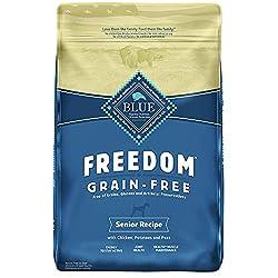 Blue Buffalo Freedom Grain-Free Senior Dog Food