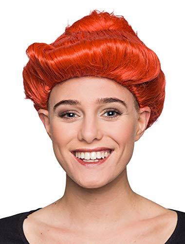 Deiters Perücke Wilma orange