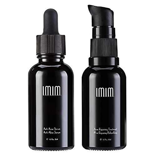 IMIM Acne Therapy Kit, Anti Akne Creme und Anti Pickel Creme Serum gegen Akne Haut Gesichtspflege für Anti Akne und Akne Behandlung