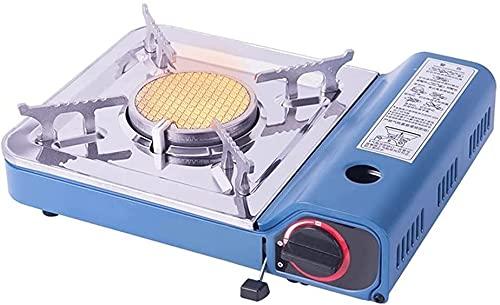 HLD estufas de campamento estufa de gas al aire libre estufa portátil hogar a prueba de viento barbacoa estufa picnic estufa tarjeta portátil horno horno cuadrado mesa estufa campamento estufas