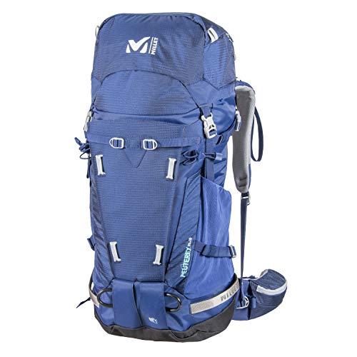 MILLET - Peuterey Integrale 35+10 - Damen-Rucksack für Wanderungen, Langlauf und Trekking - Erweiterbares Volumen 35+10 L - Blau