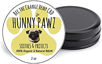 Hunny Pawz All Natural Paw & Nose Protector| Vegan & Hypoallergenic| Plant-Based All-in-one Paw/Skin/Nose Treatment| for Hot Spots, Itchy Skin, and More| Soothing Relief| Easy to Apply
