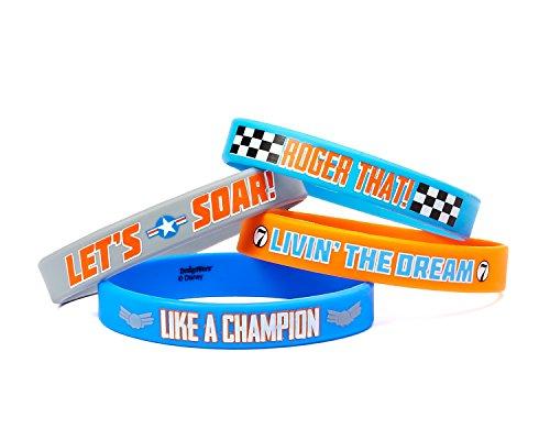 """Disney """"Planes 2"""" Rubber Bracelets, Party Favor"""
