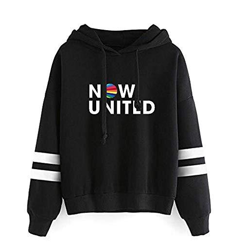 WAWNI 2020 Fashion Now United - Mejor Álbum Sudadera con capucha Sudaderas Hombres Mujeres Mejor Ahora United Lyrics Pullover Unisex Harajuku Tracksui
