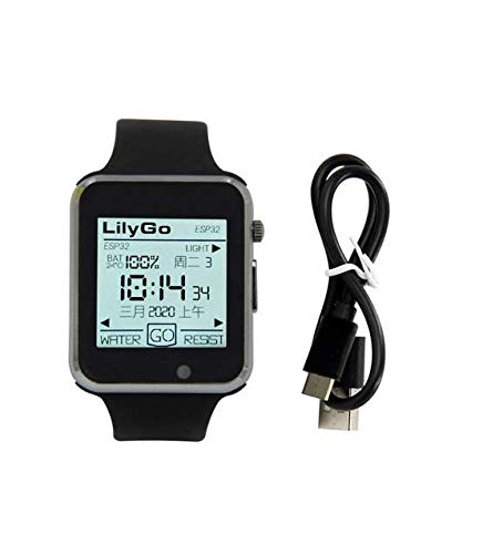BIGTREETECH LILYGO TTGO T-Watch-2020 ESP32 Main Chip Programmable Development Board Extension Board Interaction Wearable with 1.54 Inch Touch Display