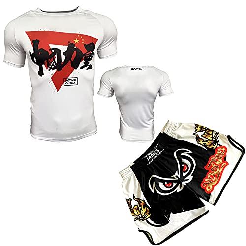 LGQ Herren 2er-Pack Sportkleidung MMA...