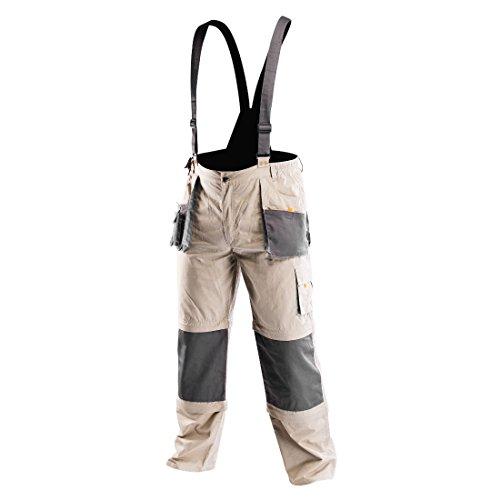 NEO TOOLS Arbeitslatzhose Profi 6 in 1 Latzhose Arbeitshose Arbeitskleidung Hose XL