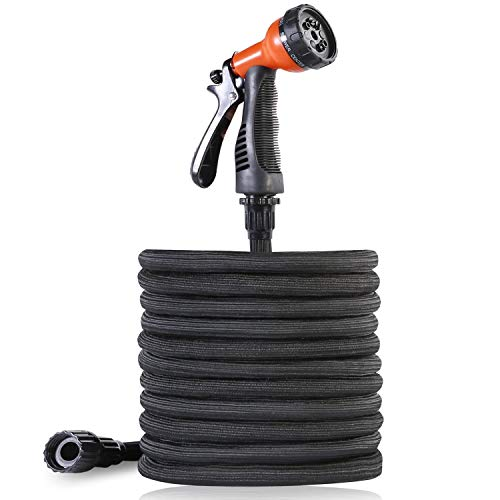 VicTsing Expandable Garden Hose, 50ft Water Hose with On/Off Valve, 3/4\