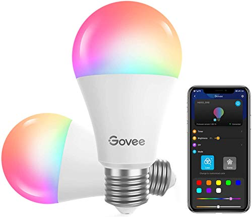 Govee WLAN LED Lampe, dimmbare 9W E27...
