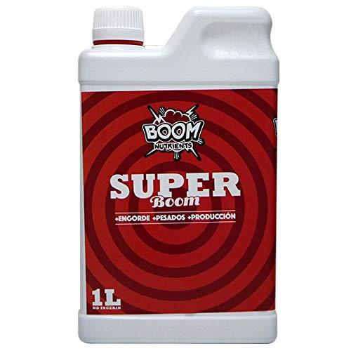 Boom Nutrients | Revienta Cogollos Marihuana/Engorde de cogollos | Super Boom (1L)