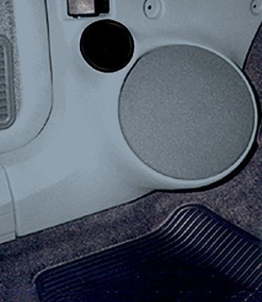Q Logic Q Forms 6.5' Kick Panel Component Speaker Enclosures for Jeep...