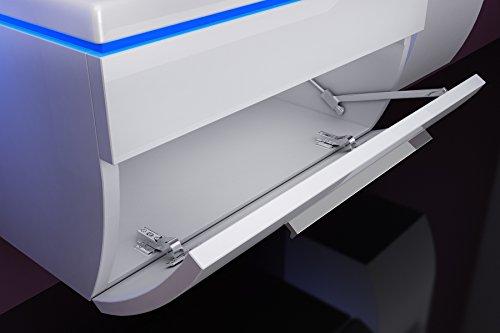 Badmöbel Doppelwaschbecken Set Weiß Bild 5*